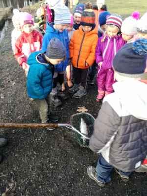 Návštěva rybárny (oranžová třída) 2019