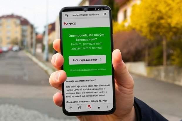 Nová verze Mapy.cz pomáhá snížit šíření koronaviru