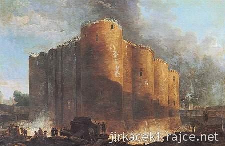 Paříž - Bastila roku 1789