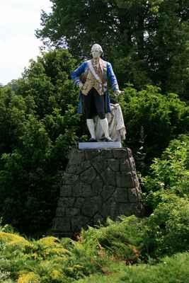 ...pomník na paměť návštěvy císaře Josefa II. ...