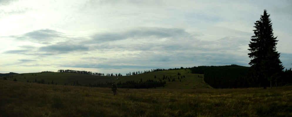 Poslední kopec před náma, Vf. Prişca, 1524 m.