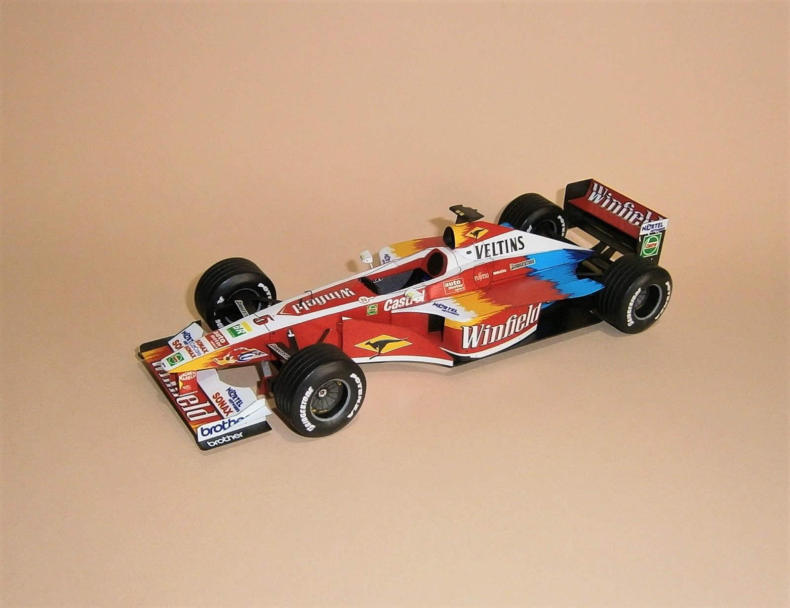 Williams FW21 - A.Zanardi - 1999