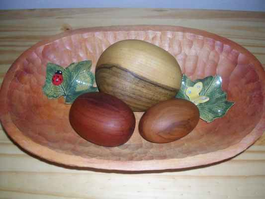 krása dřeva (valouny) - švestka, ořešák, hrušeň miska - lípa komoda - borovice