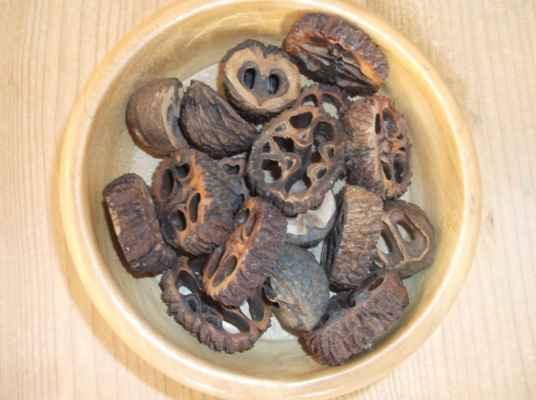 Ořešák černý (Juglans nigra) - řez ořechu miska z Topolu