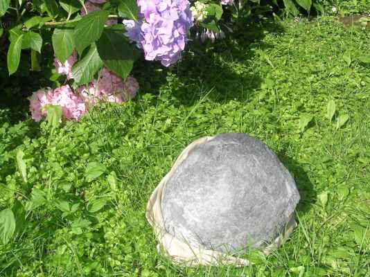 fosilie - konkrece, průměr cca 77 cm, váha 21 kg