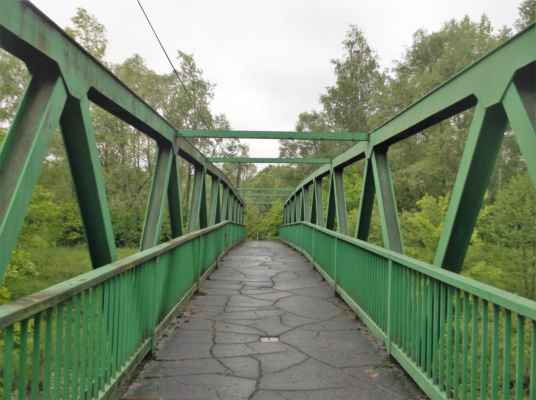 Mostek přes Stonávku