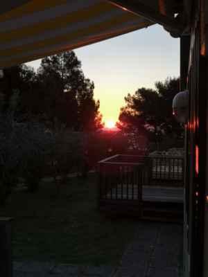 první ráno na Istrii