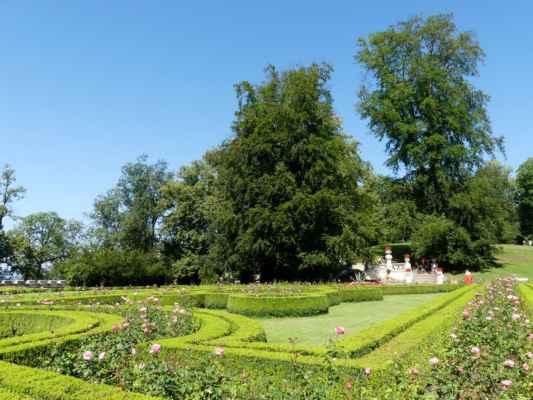 Zámecká zahrada.