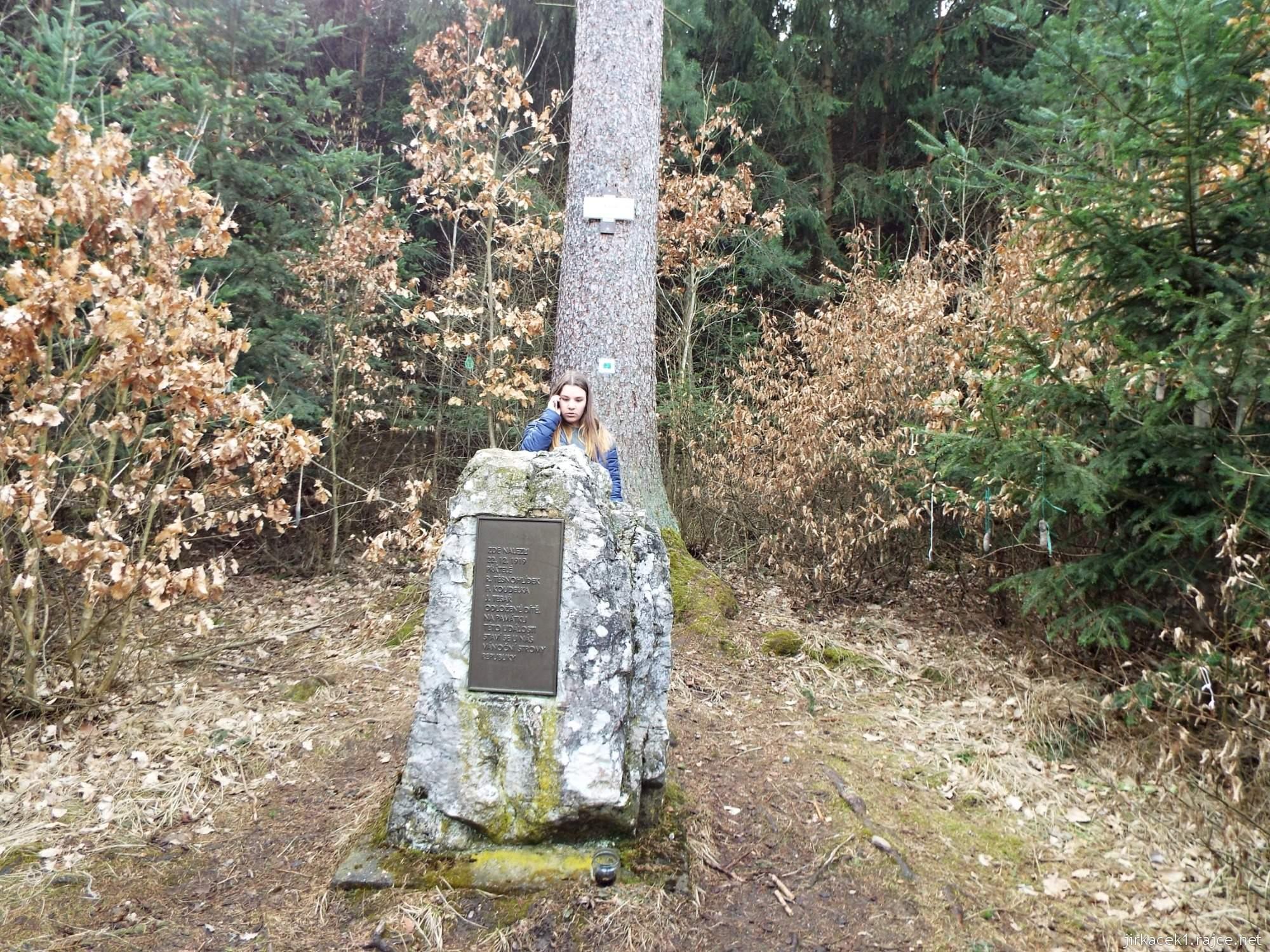 Bílovice nad Svitavou - Liduščin památník