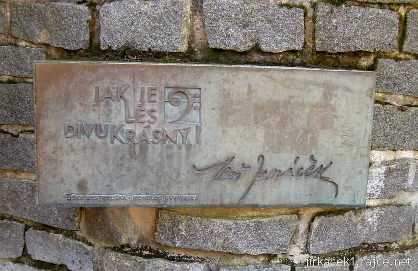 Bílovice nad Svitavou 4 - studánka Leoše Janáčka
