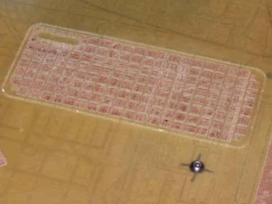 Materiál mříže je sklolaminát tl. 0,5mm.