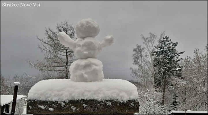 Středohoří - Sněhuláček z Nové Vsi nad Střekovem