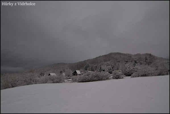 Středohoří - Odpoledne po sněžení,jako v pohádce..