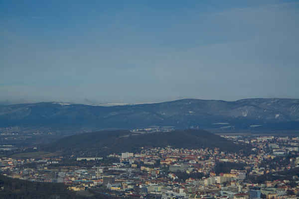 Středohoří - Přes město ke Krušným horám..