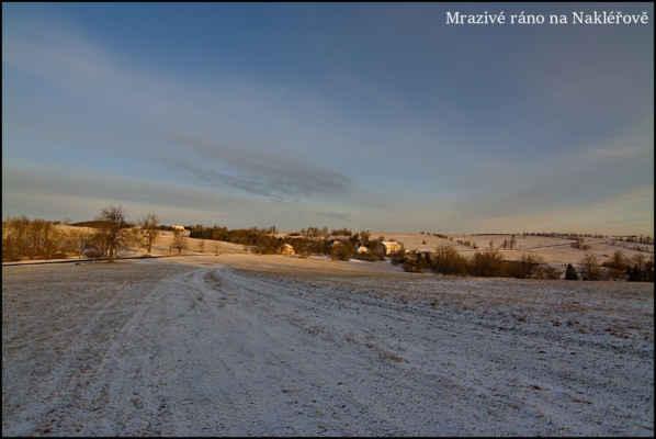 Krušné hory - Po velmi teplých dnech,přišla do vyšších poloh ještě zima..